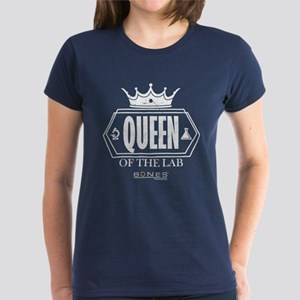 Bones Queen of the Lab Women's Dark T-Shirt